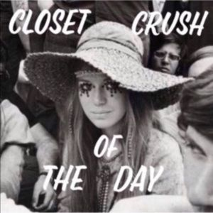 I'm featured in the Closet Crush of the Day!